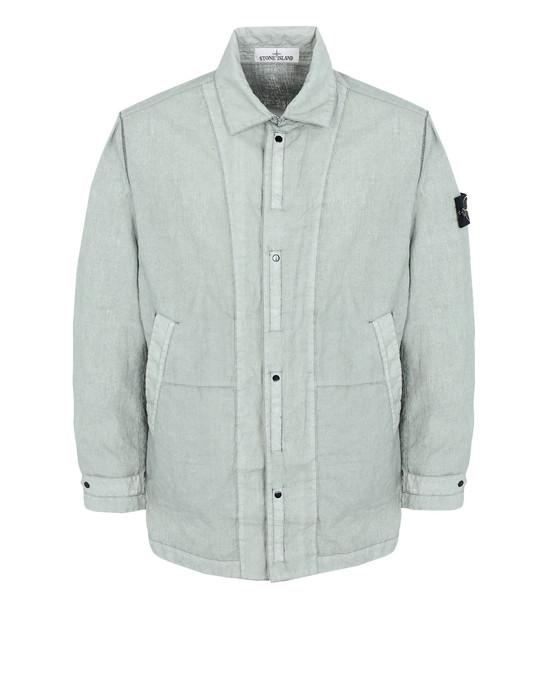 Mid-length jacket 43933 LINO RESINATO-TC STONE ISLAND - 0