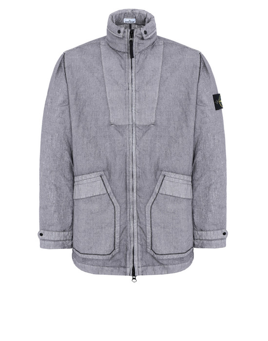 Mid-length jacket 44233 LINO RESINATO-TC STONE ISLAND - 0