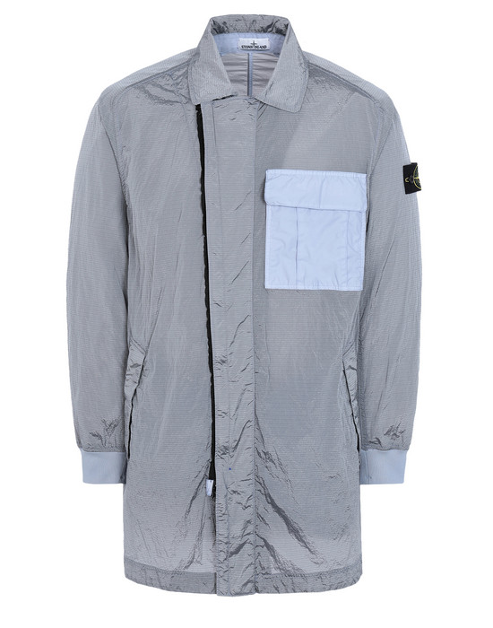 LONG JACKET 70832 NYLON METAL WATRO RIPSTOP STONE ISLAND - 0