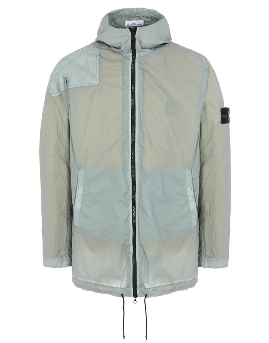 Jacket 43231 LAMY VELOUR_DETACHABLE LINING STONE ISLAND - 0