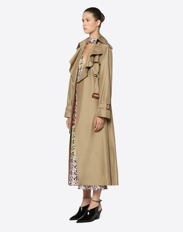 Precious Reps Trench Coat