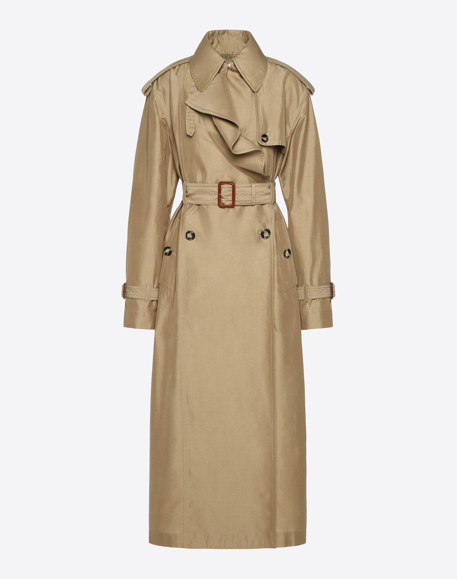 Precious Reps Trench Coat