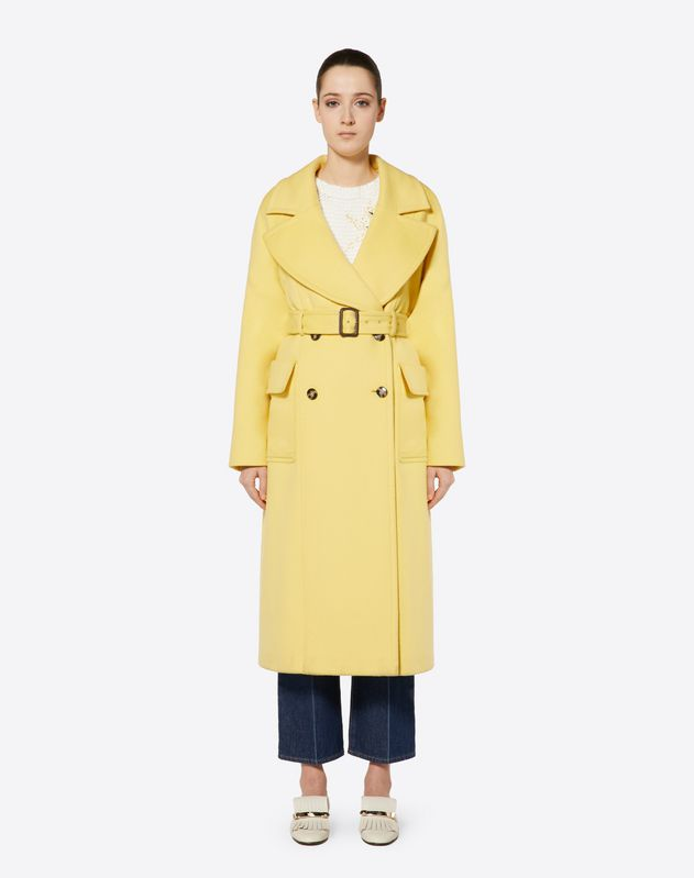 Light Double Drap Coat