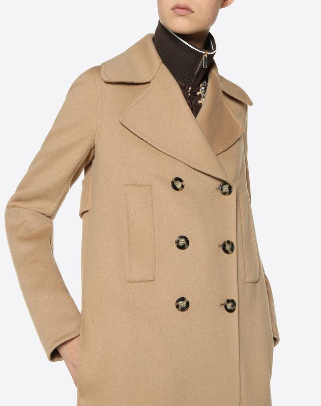 Пальто из двойного кашемира