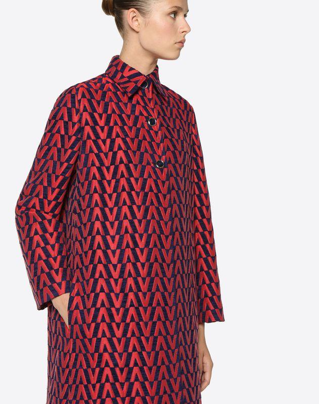 V Brocade Coat