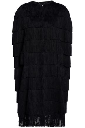 STELLA McCARTNEY Fringed wool cape