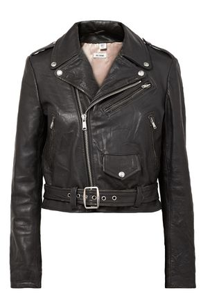 RE/DONE Leather biker jacket