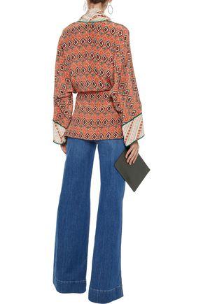 2ccab2c65ba Printed silk kimono   TALITHA   Sale up to 70% off   THE OUTNET