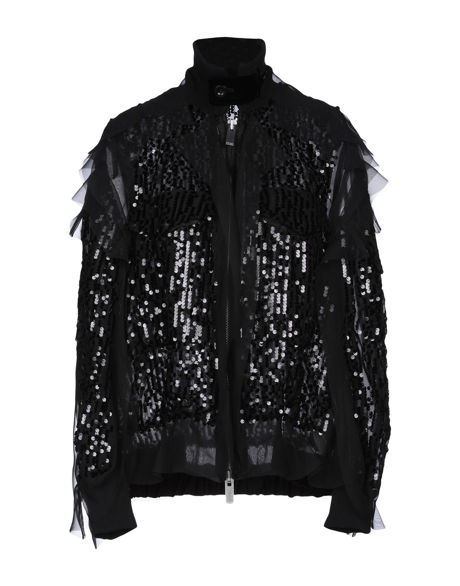 купить SACAI Куртка по цене 42500 рублей