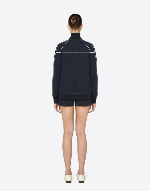 Sweat-shirt VLTN en jersey technique