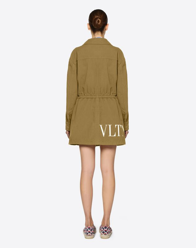 VLTN Malfilé Cotton Peacoat