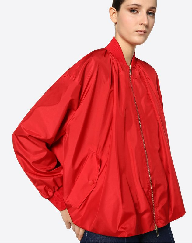 Anti Drop Silk Peacoat