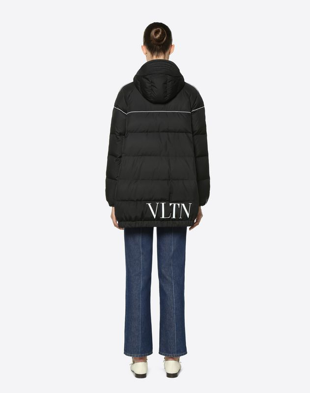 VLTN Nylon Poplin Down Coat
