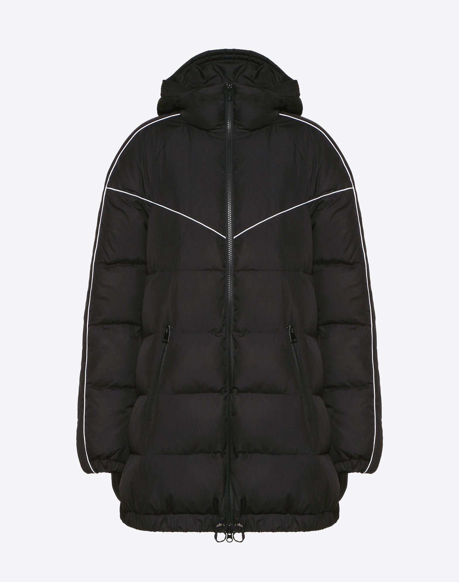 VLTN Nylon Poplin Down Coat