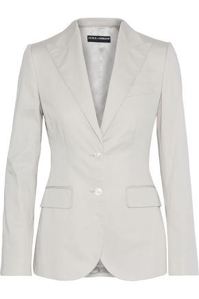 DOLCE & GABBANA Stretch-cotton blazer