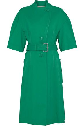 MARNI Button-detailed cutout cotton trench coat