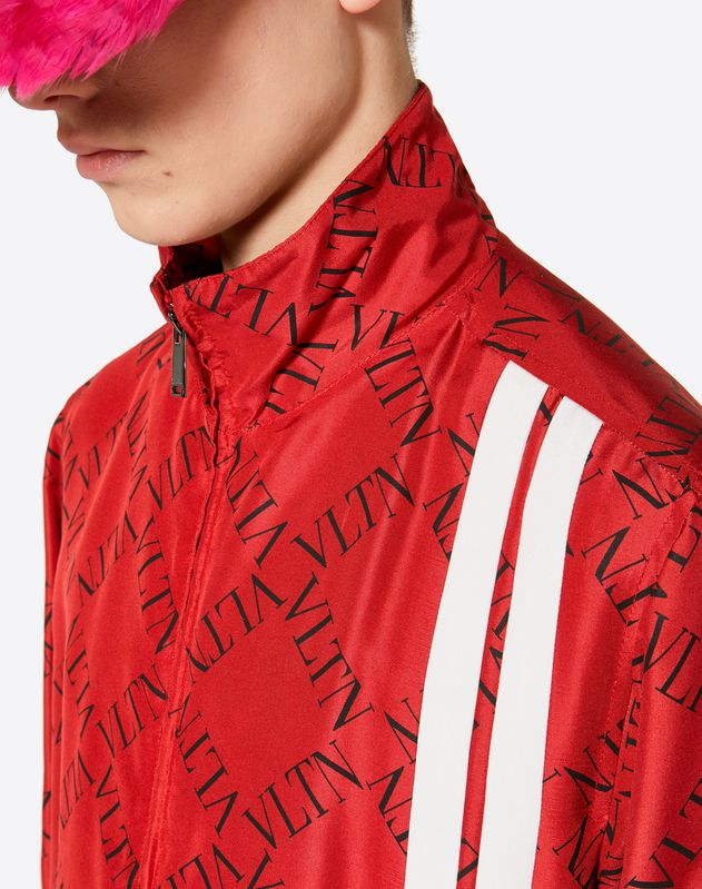 BLOUSON WITH VLTN GRID PRINT
