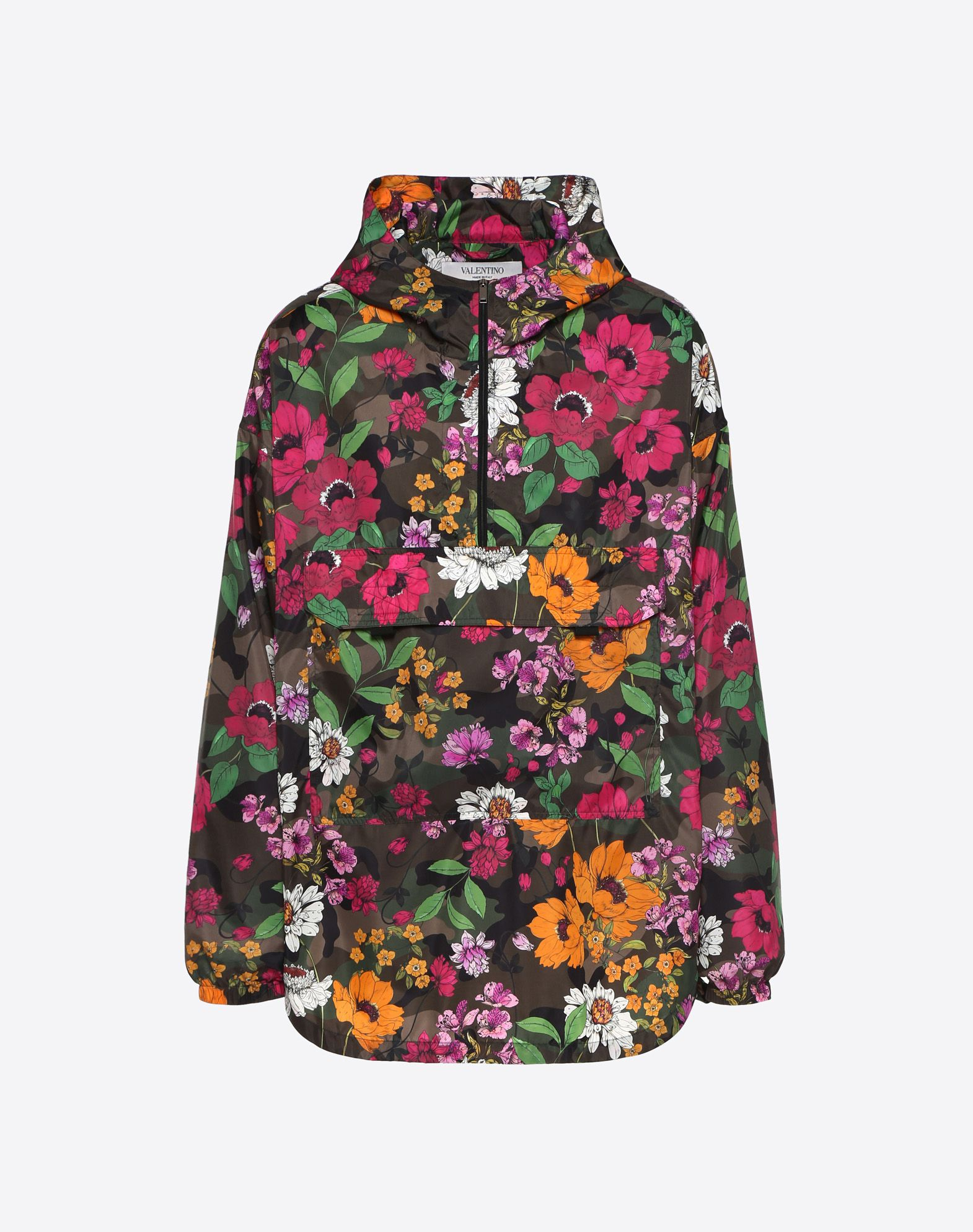 ANORAK WITH DEW CAMOU PRINT