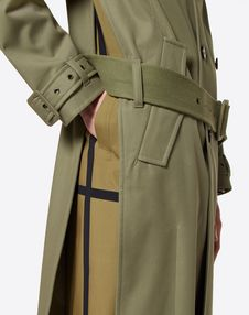 OVERSIZE TRENCH COAT WITH SIDE VENTS