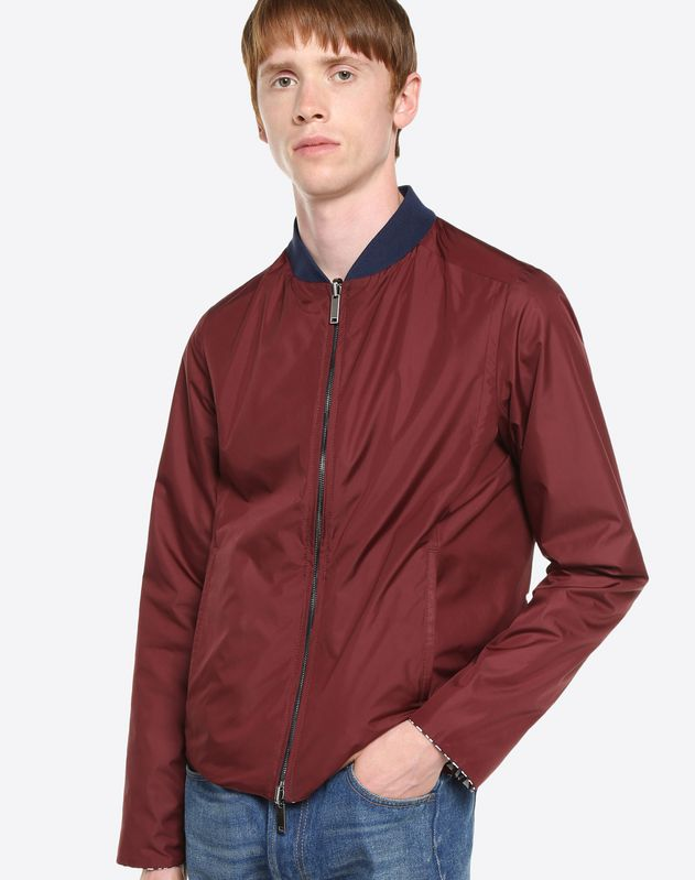 OPTICAL VALENTINO REVERSIBLE JACKET