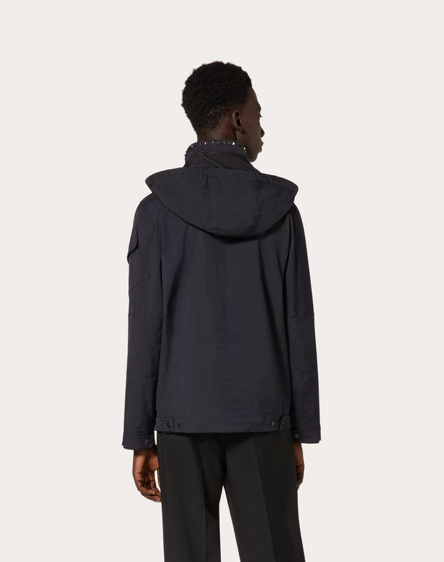 ROCKSTUD UNTITLED NYLON PEACOAT