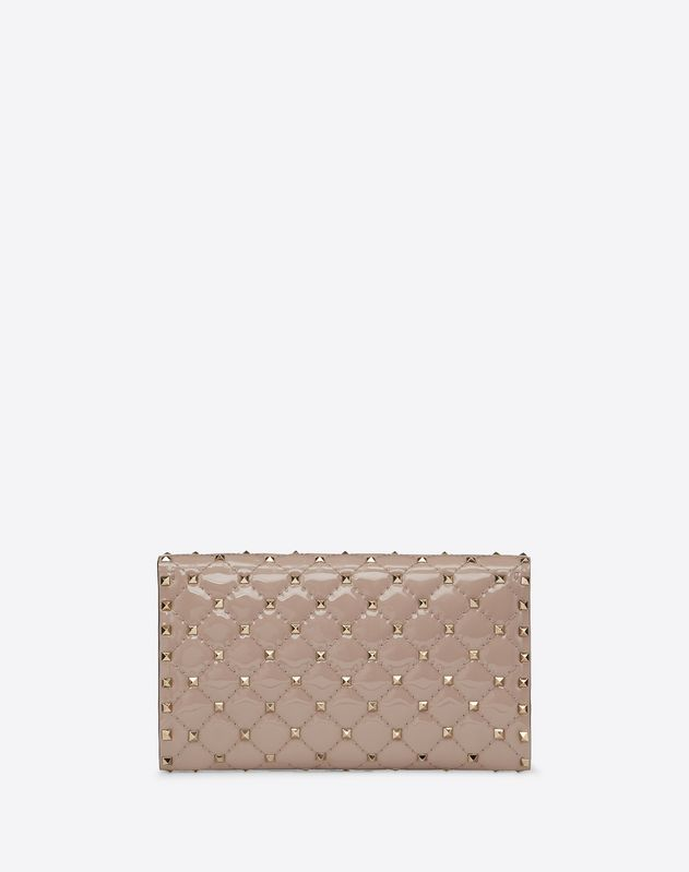 Patent Rockstud Spike crossbody clutch