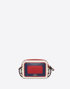Small multicolour Rockstud crossbody bag