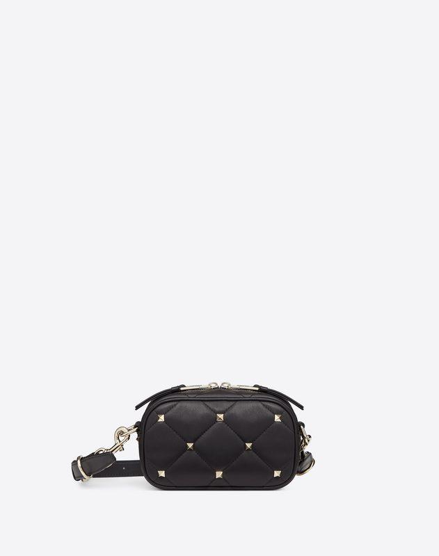 Маленькая стёганая сумка через плечо Boomstud