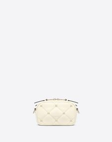 Small quilted Boomstud crossbody bag