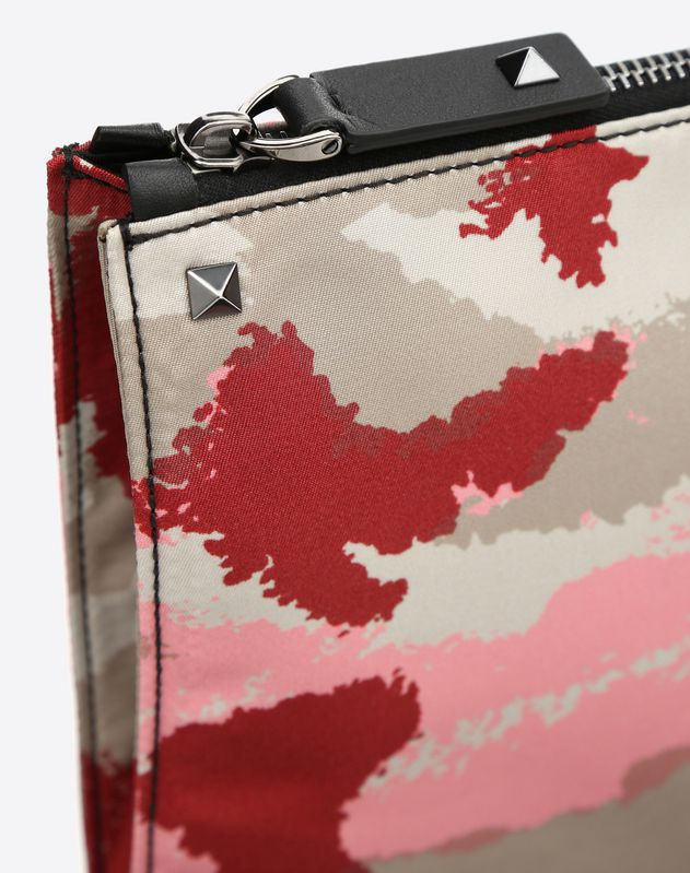 NYLON CAMOUART BRIEFCASE