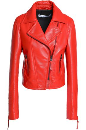 J.W.ANDERSON Leather biker jacket