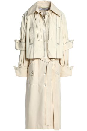 J.W.ANDERSON Layered cotton-twill trench coat