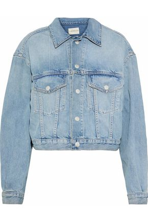 SIMON MILLER Girard faded denim jacket