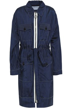 SONIA RYKIEL Pinstriped twill jacket