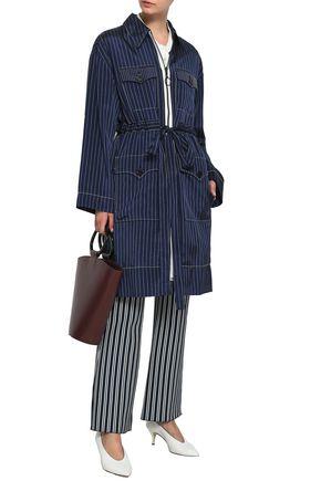 SONIA RYKIEL Pinstriped twill jacket