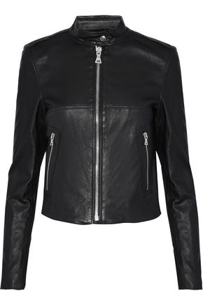 THEORY Leather biker jacket