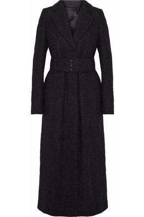 MAISON MARGIELA Belted mélange wool-felt coat