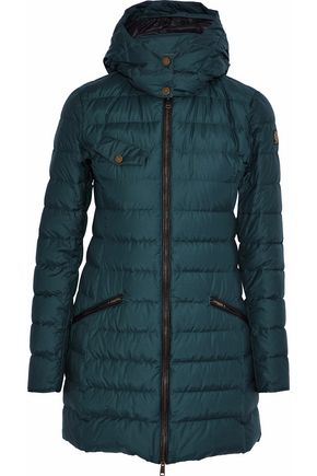 BELSTAFF Melcombe quilted cotton-blend shell down hooded coat
