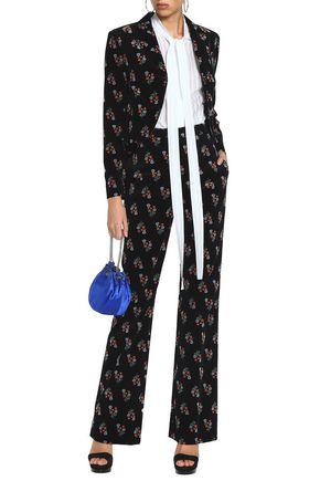 SONIA RYKIEL Floral-print cotton-blend corduroy blazer