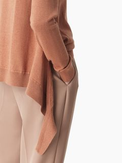 Wrap-over sweater