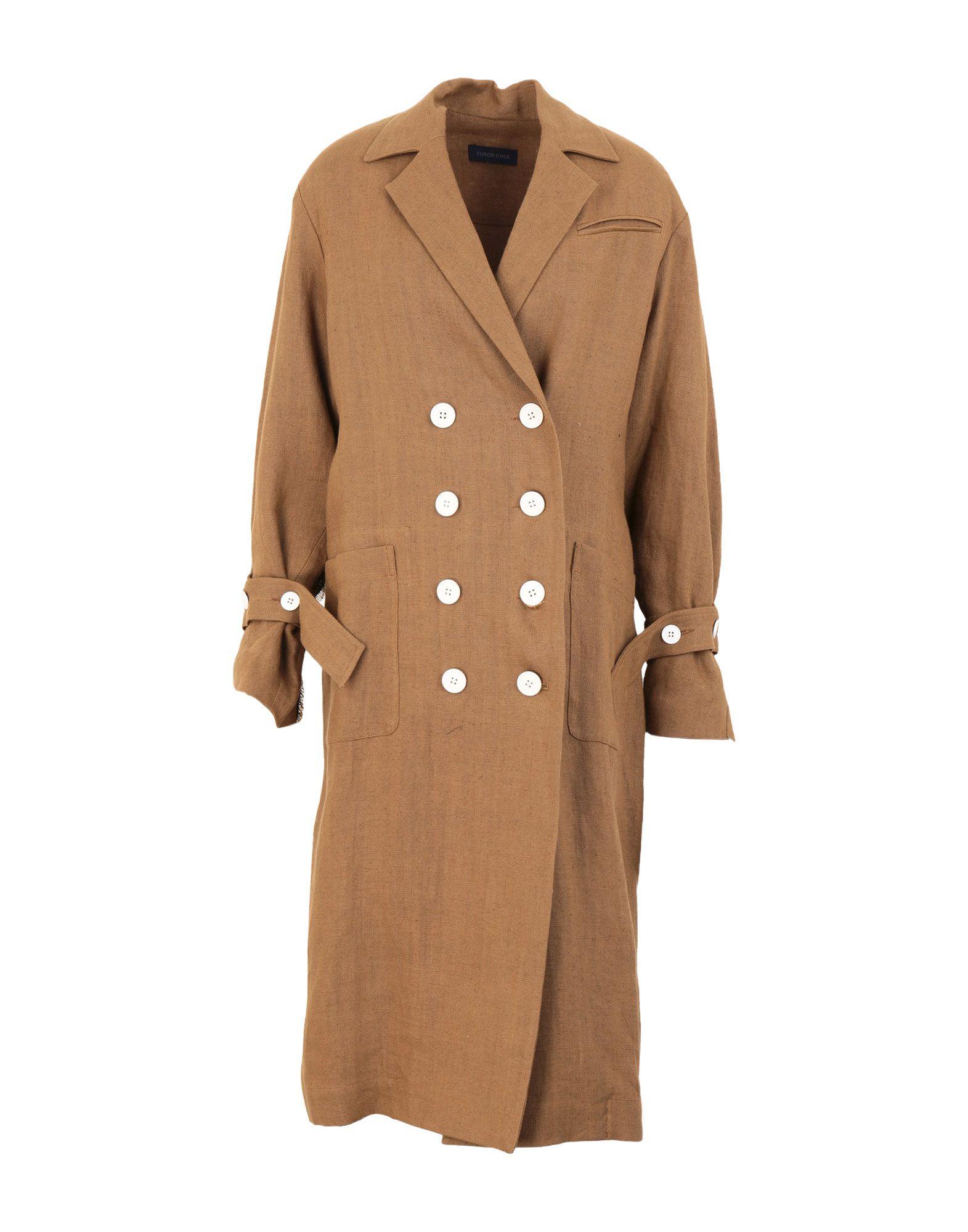EUDON CHOI Легкое пальто eudon choi блузка
