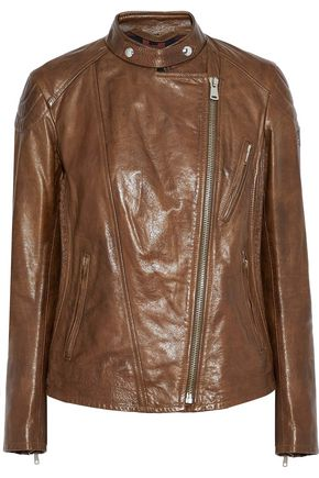 BELSTAFF Colbert cracked-leather biker jacket
