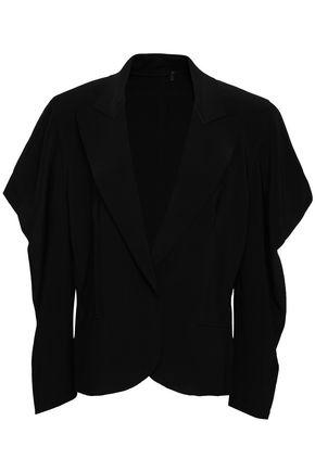 NORMA KAMALI Stretch-jersey blazer
