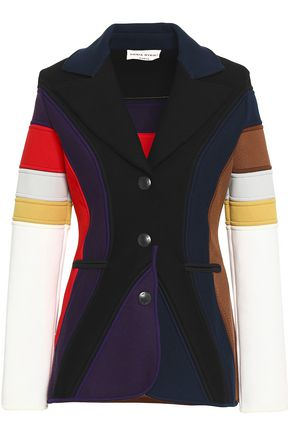 SONIA RYKIEL Color-block stretch-ponte blazer