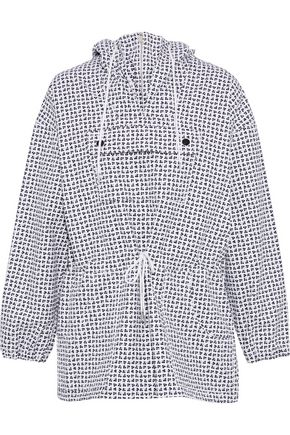 VANESSA SEWARD Printed cotton-canvas hooded jacket