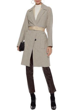 VANESSA BRUNO Manteau belted cotton jacquard coat