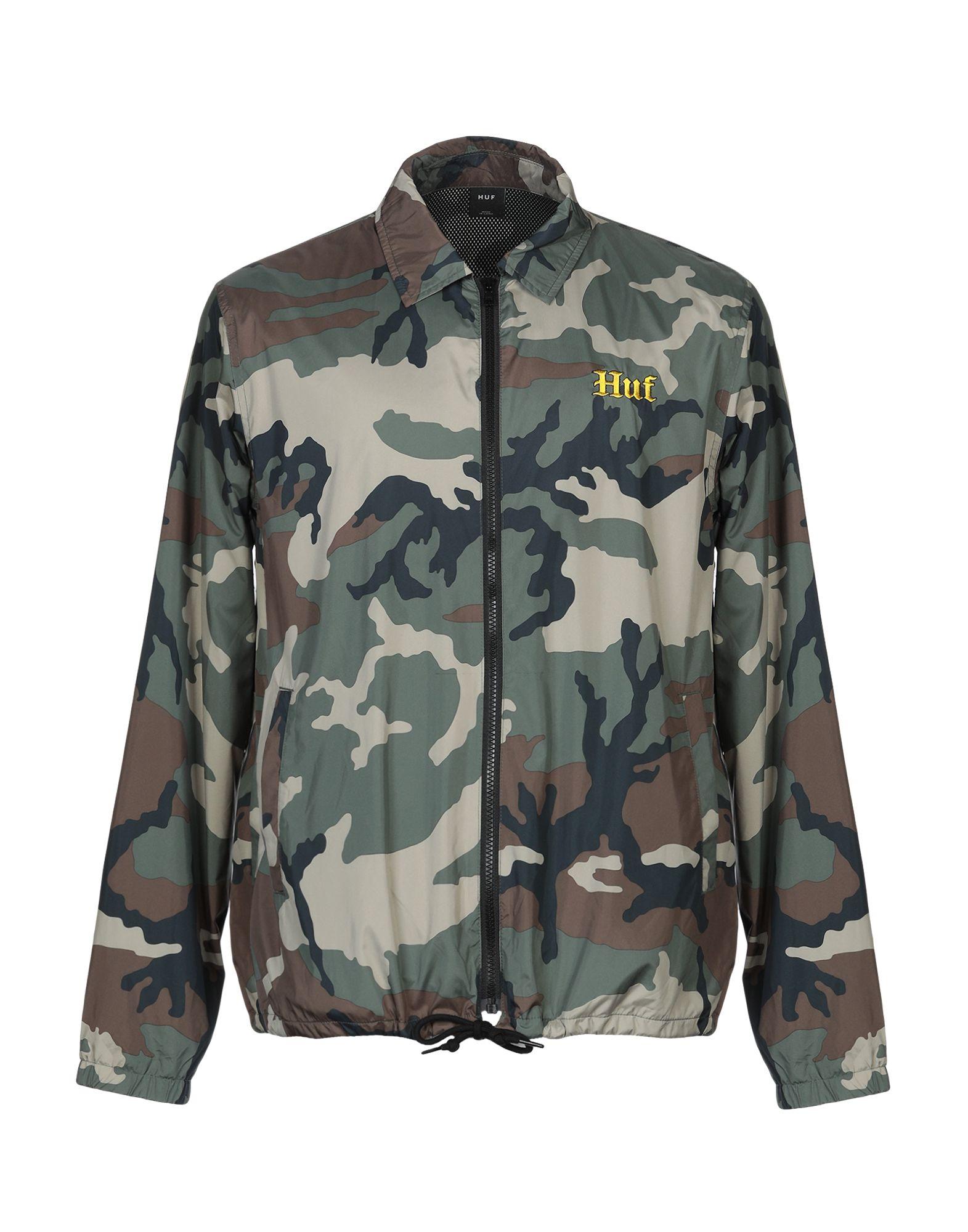 HUF Куртка футболка huf wartini burgandy
