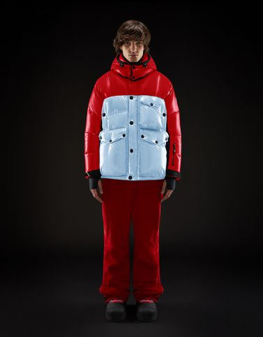 Moncler Grenoble Jackets and Down Jackets Man: ROBURENT