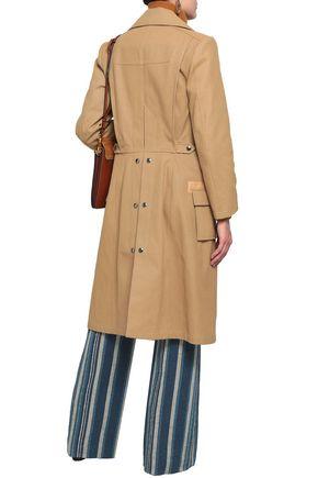 CHLOÉ Cotton-canvas coat