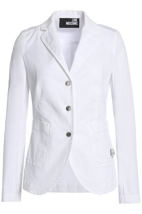 LOVE MOSCHINO Stretch-cotton blazer